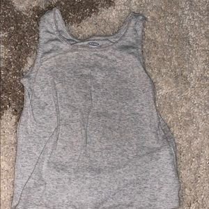 Old Navy 4T gray tank top